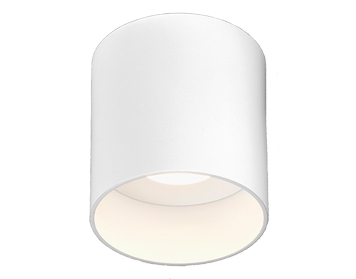 Astro Osca LED Round Ceiling Light, Matt White Finish - 7996