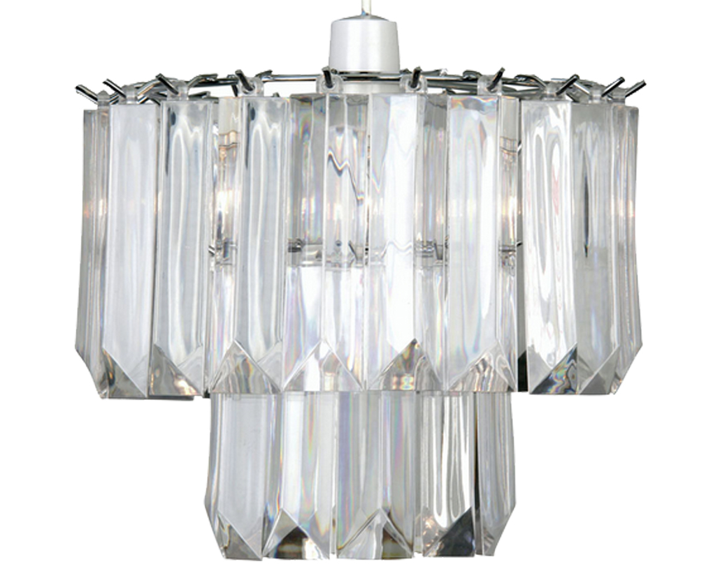 Oaks Lighting 'Acrylic' Non-Electric Ceiling Pendant, Clear Acrylic - 807 NE