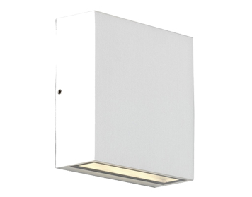 Astro Elis Single LED Outdoor Wall Light, Textured White Finish - 8116