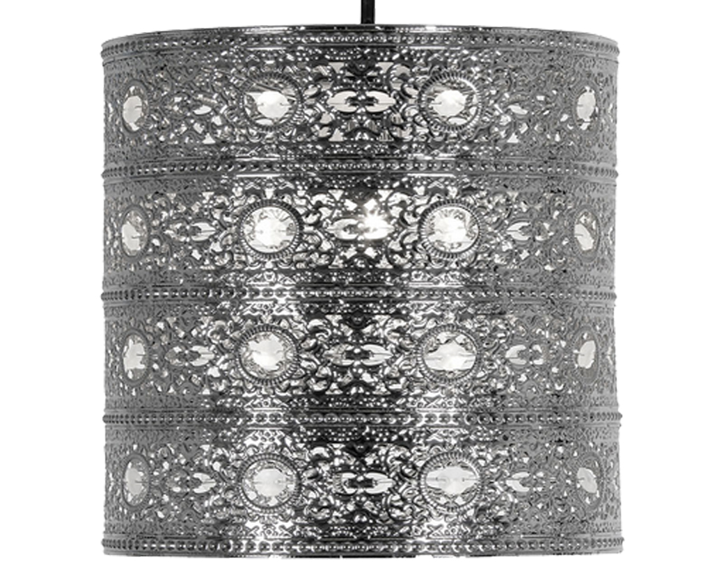 Oaks Lighting 'Marley' Non-Electric Ceiling Pendant, Polished Chrome - 8201 CH