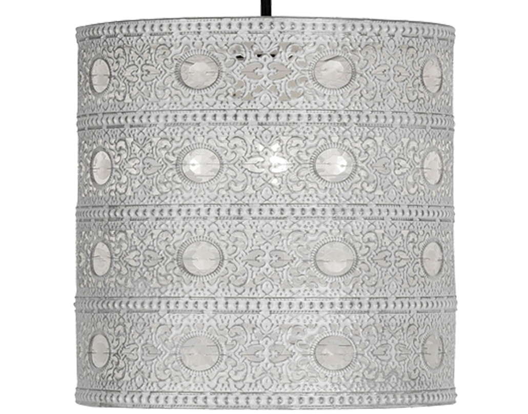 Oaks Lighting 'Marley' Non-Electric Ceiling Pendant, Ivory - 8201 IV