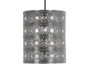 Oaks Lighting Marley Non-Electric Ceiling Pendant, Polished Chrome Finish - 8201 CH