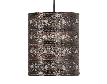Oaks Lighting Marley Non-Electric Ceiling Pendant, Copper Finish - 8201 CU