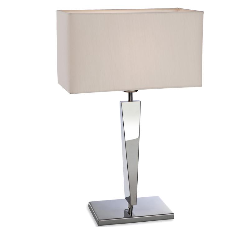 firstlight 39 mansion 39 polished stainless steel table lamp. Black Bedroom Furniture Sets. Home Design Ideas
