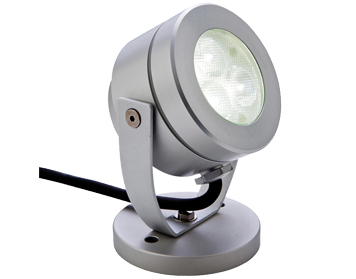 Firstlight Waterproof LED Spotlight, Aluminium Finish - 8241AL