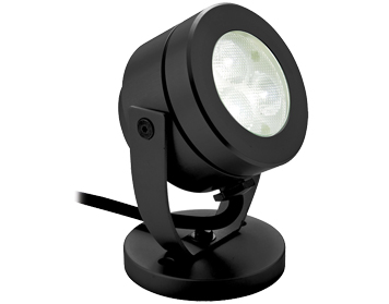 Firstlight Waterproof LED Spotlight, Black Finish - 8241BK