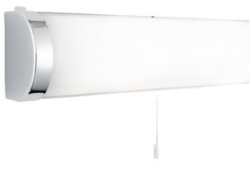 Searchlight IP44 Rated 2 Light Bathroom Wall Polished Chrome