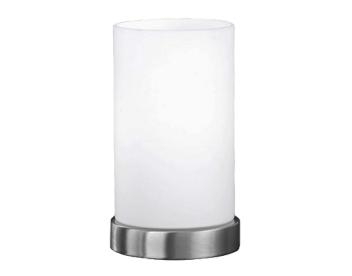 Action U0027Loftu0027 1 Light 3 Step Touch Dimmable Table Lamp, Matt Nickel