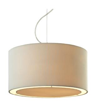 Firstlight u0027Cliou0027 3 Light Pendant Light Cream - 8311CR  sc 1 st  Easy Lighting & Fabric Pendant Lights from Easy Lighting azcodes.com