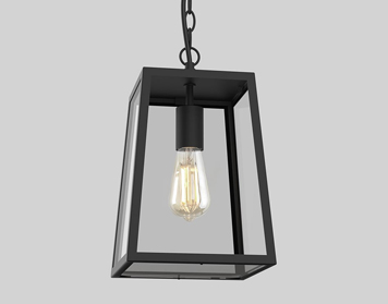 Astro Calvi 305 Ceiling Pendant Light, Textured Black Finish - 8314