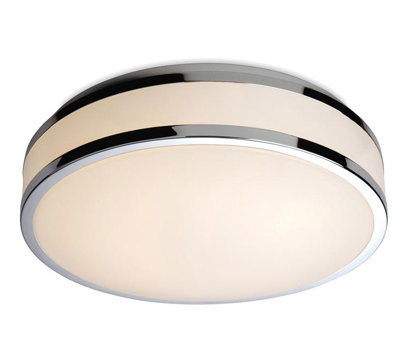Firstlight Atlantis LED Flush Fitting Ceiling Light, White