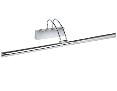 Searchlight Picture Light, Polished Chrome - 8343CC
