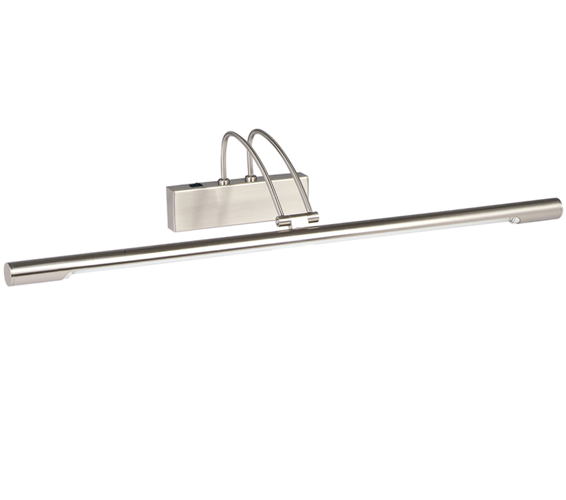 Searchlight 1 Light Switched Picture Light, Satin Silver Finish - 8343SS None