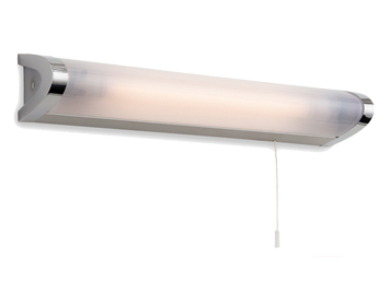 Firstlight Amari Low Energy Switched Wall Light, Chrome Finish With Polycarbonate Diffuser - 8628CH