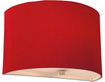 Firstlight Clio Wall Light, Red Finish - 8632RE