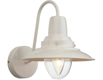 Firstlight Fisherman Wall Light, Cream With Clear Glass - 8686CR