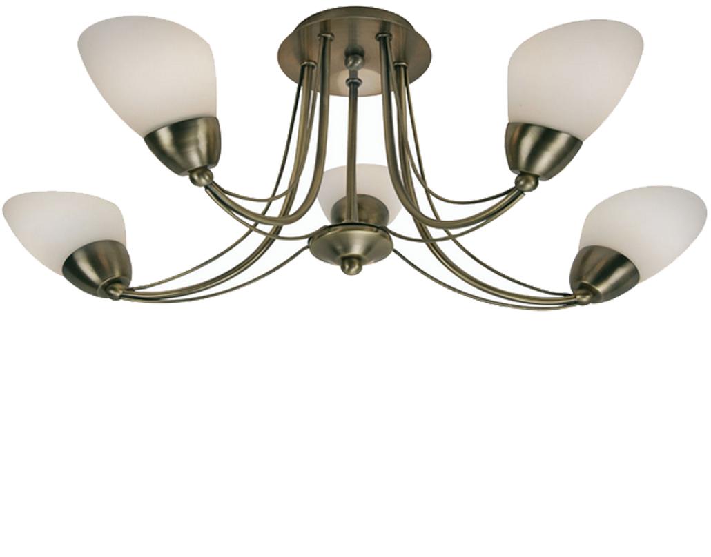4 And 5 Light Semi Flush Ceiling Lights from Easy Lighting