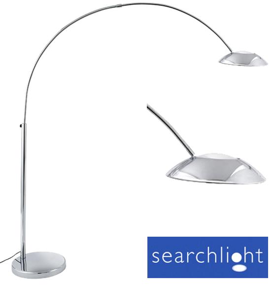 Searchlight arcs low energy floor lamp chrome 8896cc from easy searchlight arcs low energy floor lamp chrome 8896cc aloadofball Gallery