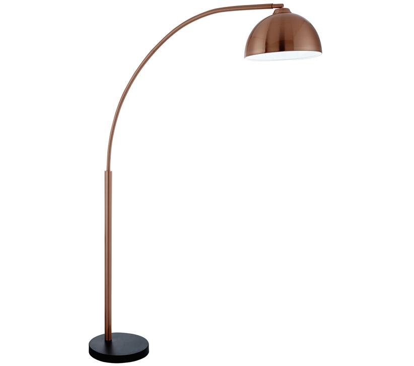 Searchlight Giraffe 1 Light Floor Lamp Copper Finished