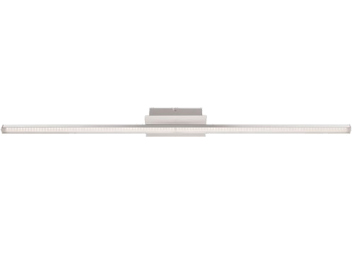 Wofi Clay 1 Light LED Ceiling Light, Chrome - 9163.01.01.1000