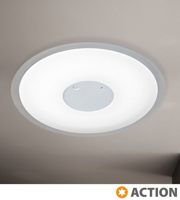 Action 'Solena' 1 Light LED Remote Control Ceiling Light, White ...
