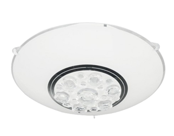 Action Noa 1 Light LED Ceiling Light, White - 922101060250