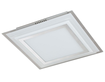 Wofi Nancy 1 Light 17.5w LED Ceiling Light, Chrome - 9276.01.01.1300