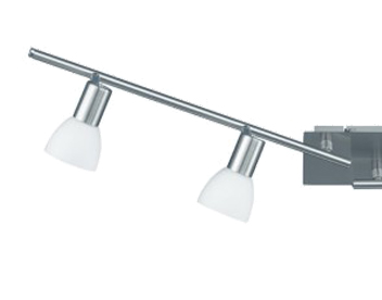 Wofi Angola 4 Light Bar Spotlight, Matt Nickel Finish - 9354.04.64.0000
