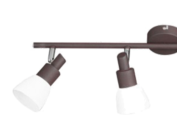 Wofi Eve 4 Light LED Bar Spotlight, Antique Brown Finish - 9361.04.09.0000