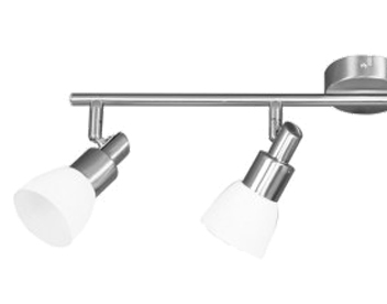Wofi Eve 4 Light LED Bar Spotlight, Matt Nickel Finish - 9361.04.64.0000