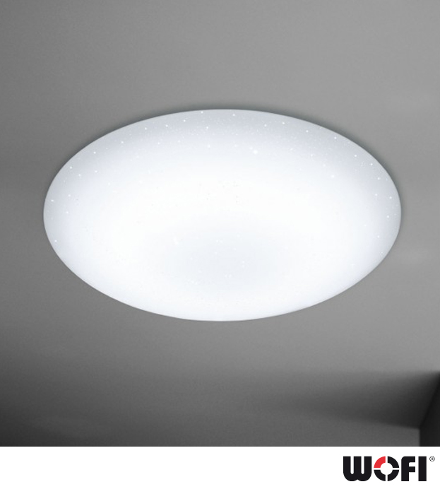 Wofi ceres led 1 light dimmable remote control flush ceiling light wofi ceres led 1 light dimmable remote control flush ceiling light white aloadofball Images