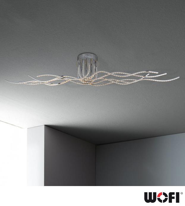 Wofi benett 10 light led ceiling light polished chrome 955710 wofi benett 10 light led ceiling light polished chrome 955710010000 aloadofball Gallery