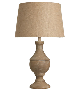 Wood amp painted wood table lamps from easy lighting