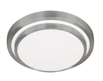Action Oslo 1 Light LED Ceiling Light, Aluminium Brass - 967001630330