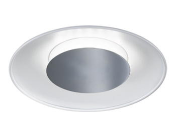 Wofi Rondo 1 Light LED 30cm Diameter Ceiling Light, White - 9671.01.06.0000