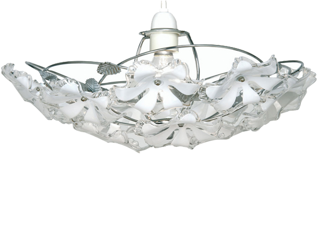 Oaks Lighting 'Abeba' Large Non-Electric Ceiling Pendant, Polished Chrome - 980 CH L
