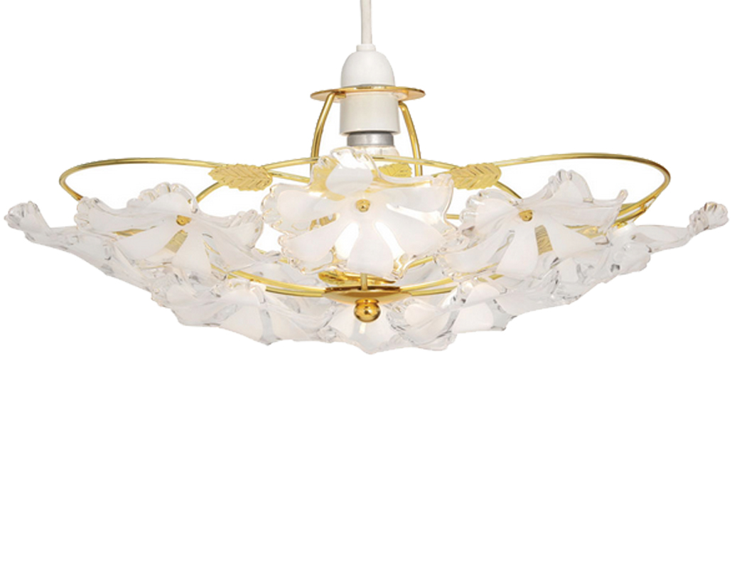 Oaks Lighting 'Abeba' Large Non-Electric Ceiling Pendant, Polished Brass - 980 PB L