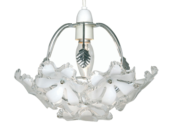 Oaks Lighting Abeba Small Non-Electric Ceiling Pendant, Polished Chrome Finish - 980 CH S
