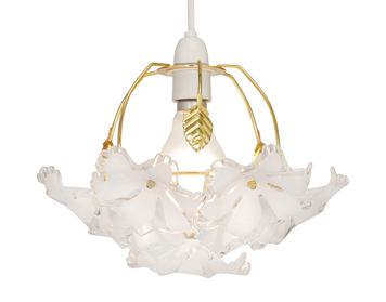 Oaks Lighting Abeba Small Non-Electric Ceiling Pendant, Polished Brass - 980 PB S