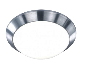 Action Mara 1 Light 26cm LED Ceiling Light, Aluminium Brass - 987601630260