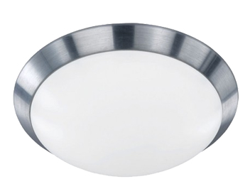 Action Mara 1 Light 33cm LED Ceiling Light, Aluminium Brass - 987601630330