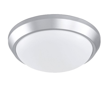 Action Sana 1 Light 28cm LED Ceiling Light, Silver - 988101700250