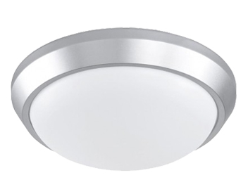 Action Sana 1 Light 33cm LED Ceiling Light, Silver - 988101700330