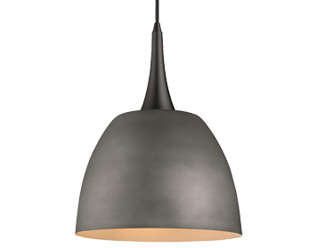 Arcadia 1 Light Ceiling Pendant, Cement Finish - SALE-ITL10001