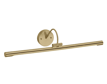 Elstead Alton Large LED Picture Light, Brushed Brass Finish - ALTON PL/L BB