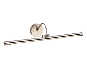 Elstead Alton Large LED Picture Light, Brushed Nickel Finish - ALTON PL/L BN