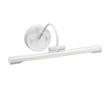 Elstead Alton Small LED Picture Light, White Finish - ALTON PL/S WHT