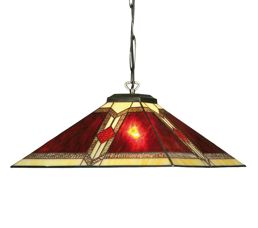 095c97bf0d5d Oaks Lighting Aztec Tiffany Ceiling Pendant - OT 2408 18 P from Easy ...