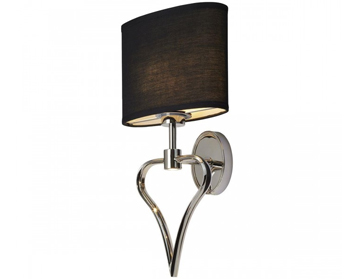 Elstead Falmouth Bathroom Wall Light, Polished Chrome Finish - BATH/FALMOUTH PC