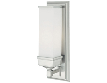 Elstead Cambridge 1 Light Bathroom Wall Light, Polished Chrome - BATH/CM1
